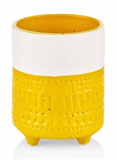 The Mia Vazo - 12 Cm Sarı Sarı